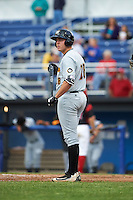 West Virginia Black Bears designated hitter Will Craig (28) during a game against the Batavia Muckdogs on June 28, 2016 at Dwyer Stadium in Batavia, New York.  Batavia defeated West Virginia 3-1.  (Mike Janes/Four Seam Images)