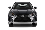 Car photography straight front view of a 2021 Lexus RX 350 5 Door SUV Front View