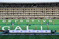 PALMIRA - COLOMBIA, 12-09-2020: Panorámica del estado Deportivo Cali.Deportivo Cali y Millonarios en partido por la fecha 6 de la Liga BetPlay DIMAYOR I 2020 jugado en el estadio Deportivo Cali de la ciudad de Palmira. / Panoramic photograph of the Deportivo Cali stadium.Deportivo Cali and Millonarios in match for the date 6 as part of BetPlay DIMAYOR League I 2020 played at Deportivo Cali stadium in Palmira city. Photo: VizzorImage / Nelson Rios / Cont