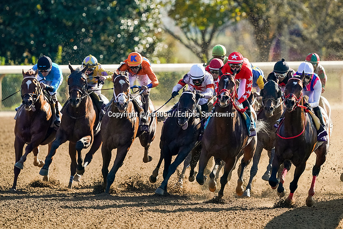 November 7, 2020 : Whitmore, ridden by Irad Ortiz, Jr., wins the Sprint on Breeders' Cup Championship Saturday at Keeneland Race Course in Lexington, Kentucky on November 7, 2020. Dan Heary/Breeders' Cup/Eclipse Sportswire/CSM