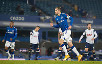 10th February 2021, Goodison Park, Liverpool, England;  Everton s Gylfi Sigurdsson celebrates after scoring his goal from a penalty-kick during the FA Cup 5th round match between Everton FC and Tottenham Hotspur FC at Goodison Park