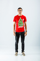 Wednesday 02 November 2016<br /> Pictured: Jack Cork<br /> Re: Swansea City Christmas Photo shoot, Liberty Stadium, Wales, UK