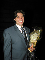 Sept 3  2003 Montreal (Qc) CANADA<br /> Tony Conte, closing night of the 2003 World Film Festival a<br /> Photo (c) 2003, Pierre Roussel / Images Distribution
