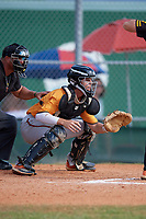 Luke Heyman (8) during the WWBA World Championship at Terry Park on October 11, 2020 in Fort Myers, Florida.  Luke Heyman, a resident of Longwood, Florida who attends Lake Brantley High School, is committed to Florida.  (Mike Janes/Four Seam Images)