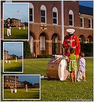 The Drummer Boy & Marine