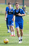 St Johnstone Training….29.06.19   McDiarmid Park, Perth<br />Ross Callachan<br />Picture by Graeme Hart.<br />Copyright Perthshire Picture Agency<br />Tel: 01738 623350  Mobile: 07990 594431