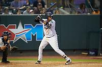Carlos Tatis (68) of the Pulaski Yankees at bat against the Princeton Rays at Calfee Park on July 14, 2018 in Pulaski, Virginia. The Rays defeated the Yankees 13-1.  (Brian Westerholt/Four Seam Images)