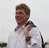 A happy Ted Thompson after his Ed's Big Bet takes the 2nd.