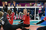 Heidi Peters, Lima 2019 - Sitting Volleyball // Volleyball assis.<br /> Canada competes in women's Sitting Volleyball // Canada participe au volleyball assis féminin. 26/08/2019.
