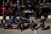NASCAR Camping World Truck Series<br /> Alpha Energy Solutions 250<br /> Martinsville Speedway, Martinsville, VA USA<br /> Saturday 1 April 2017<br /> Noah Gragson pit stop<br /> World Copyright: Scott R LePage/LAT Images<br /> ref: Digital Image lepage-170401-mv-2328