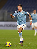 Calcio, Serie A: S.S.Lazio - Napoli, Olympic stadium, Rome, December 20, 2020. <br /> Lazio's  captain Ciro Immobile in action during the Italian Serie A football match between Lazio and Napoli at the Olympic stadium, on December 20, 2020.<br /> UPDATE IMAGES PRESS/Isabella Bonotto