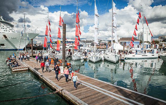 The Southampton International Boat Show at Mayflower Park