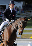 17 October 2008:  Former Olympian Darren Chiacchia and Better I Do It compete in the dressage section of the Fair Hill International CCI*** Championship at Fair Hill Equestrian Center in Fair Hill, Maryland.  Dressage is the first stage of the three-day event.