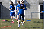 St Johnstone Training...19.03.21<br />Chris Kane pictured during training at McDiarmid Park ahead of tomorrows game against Ross County.<br />Picture by Graeme Hart.<br />Copyright Perthshire Picture Agency<br />Tel: 01738 623350  Mobile: 07990 594431