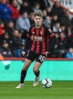 Bournemouth's David Brooks<br /> <br /> Photographer David Horton/CameraSport<br /> <br /> The Premier League - Bournemouth v Newcastle United - Saturday 16th March 2019 - Vitality Stadium - Bournemouth<br /> <br /> World Copyright © 2019 CameraSport. All rights reserved. 43 Linden Ave. Countesthorpe. Leicester. England. LE8 5PG - Tel: +44 (0) 116 277 4147 - admin@camerasport.com - www.camerasport.com