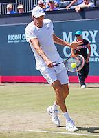 Den Bosch, Netherlands, 09 June, 2016, Tennis, Ricoh Open, Ivo Karlovic (KRO)<br /> Photo: Henk Koster/tennisimages.com