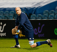 19th March 2021; RDS Arena, Dublin, Leinster, Ireland; Guinness Pro 14 Rugby, Leinster versus Ospreys; Devin Toner of Leinster warms up prior to kickoff