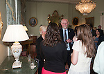 First minister Alex Salmond hosted a reception in Bute House this evening for the Fulbright Students.<br /> Pic Kenny Smith, Kenny Smith Photography<br /> 6 Bluebell Grove, Kelty, Fife, KY4 0GX <br /> Tel 07809 450119,