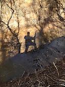 Shadow, hunter, rifle