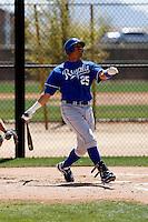 Kila Ka'aihue - Kansas City Royals - 2009 spring training.Photo by:  Bill Mitchell/Four Seam Images
