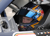May 4, 2007; Richmond, VA, USA; Nascar Nextel Cup Series driver Brian Vickers (83) during practice for the Jim Stewart 400 at Richmond International Raceway. Mandatory Credit: Mark J. Rebilas
