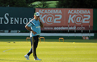 SÃO PAULO,SP, 07.10.2015 - FUTEBOL-PALMEIRAS - O Técnico Marcelo Oliveira durante treino na Academia de Futebol, na Barra Funda região oeste de São Paulo na tarde desta quarta-feira (07). (Foto : Marcio Ribeiro / Brazil Photo Press)