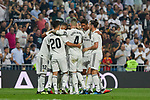 Real Madrid's players during La Liga match. September 01, 2018. (ALTERPHOTOS/A. Perez Meca)