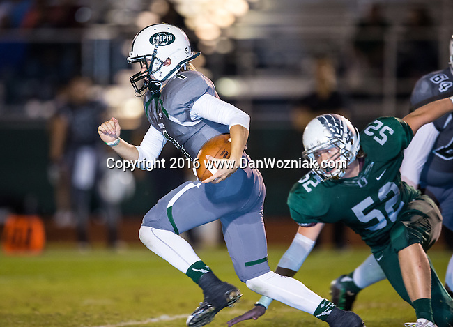 2016 Varsity Football - John Cooper vs. Oakridge