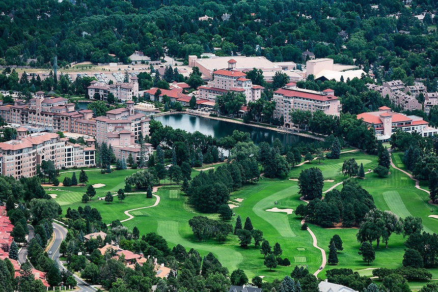 The Broadmoor Resort Hotel, Colorado Springs, Colorado, USA