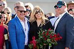 SEPTEMBER 04 2021:  Richard and Debbie Baltas after the John C Mabee at Del Mar Fairgrounds in Del Mar, California on September 04, 2021. Evers/Eclipse Sportswire/CSM