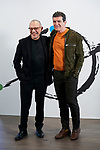 Antonio Banderas and Lluis Pasqual attends to 'Soho Theatre' photocall at Caixa Bank in Madrid, Spain. February 06, 2019. (ALTERPHOTOS/A. Perez Meca)