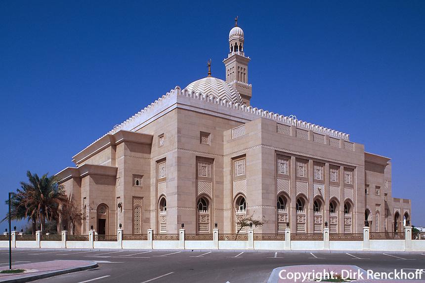 Vereinigte arabische Emirate (VAE, UAE), Dubai, Moschee in Jumeirah