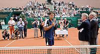 13-7-08, Scheveningen, ITS, Tennis Siemens Open 2008,  Jesse Huta Galung bedankt het publiek