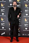 Gabriel Moreno win the award at Feroz Awards 2017 in Madrid, Spain. January 23, 2017. (ALTERPHOTOS/BorjaB.Hojas)
