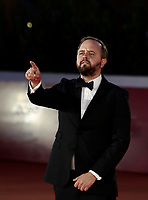 """Danish actor Magnus Millang poses on the red carpet for the screening of the film """"Druk"""" during the 15th Rome Film Festival (Festa del Cinema di Roma) at the Auditorium Parco della Musica in Rome on October 20, 2020.<br /> UPDATE IMAGES PRESS/Isabella Bonotto"""