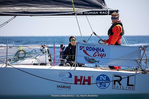 Mixed Irish offshore pairing Kenny Rumball and Pamela Lee