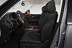 Front seat view of a 2019 Infiniti QX80 Base 5 Door SUV front seat car photos