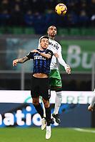 Kevin Prince Bateng-Matias Vecino<br /> Milano 19-1-2019 Giuseppe Meazza stadium Football Serie A 2018/2019 Inter - Sassuolo <br /> Foto Image Sport / Insidefoto