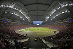 A view of the field of Singapore National Stadium during the International Champions Cup match between Chelsea FC and FC Bayern Munich on July 25, 2017 in Singapore. Photo by Marcio Rodrigo Machado / Power Sport Images