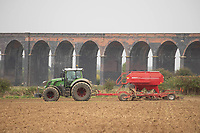 12-10-2021 Drilling oats in the Welland  valley <br /> ©Tim Scrivener Photographer 07850 303986<br />      ....Covering Agriculture In The UK....