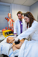 University of Columbia Medical School, acute medicine. Nursing school.