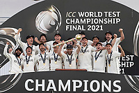 New Zealand - World Test Final Champions during India vs New Zealand, ICC World Test Championship Final Cricket at The Hampshire Bowl on 23rd June 2021