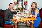 Richard McBride and Eifrita Eihentle enjoying the evening in Bella Bia on Friday.
