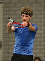 Rotterdam, Netherlands, Januari 24, 2016,  ABNAMROWTT Supermatch, Jori Meulenbeld (NED)<br /> Photo: Tennisimages/Henk Koster