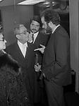 PAOLO STOPPA CON CHRISTIAN E MANUEL DE SICA<br /> SERATA AL TEATRO ELISEO DICEMBRE 1978