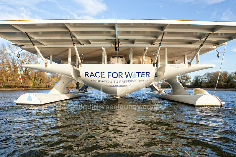 The Race for Water Solar Vessel on the Seine River.<br /> <br /> From November 26 until December 12, the Race for Water Foundation will be in Paris, on the occasion of the United Nations Climate Change Conference (COP21). The foundation will be present with its ambassador, the Race for Water Solar Vessel, and will symbolically bring the ocean to the COP21 as a new member of the Ocean and Climate Platform.<br /> <br /> The Foundation will organize and participate in several events and conferences both at Le Bourget Conference Center and at the Grand Palais.<br /> <br /> For more information visit: http://www.raceforwater.com/<br /> <br /> Photo assignment for Race For Water a foundation to preserve water.<br /> <br /> Online gallery with 90 images: <br /> <br /> http://bit.ly/1YvEyQO<br /> <br /> <br /> My Diary: http://www.sealaunay.com/diary/<br /> <br /> <br /> My Videos:<br /> <br /> http://bit.ly/1Bu7zBc<br /> <br /> http://bit.ly/1oPQfiC<br /> <br /> http://bit.ly/SunTjd<br /> <br /> Best regards.
