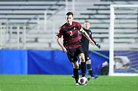 CARY, NC - DECEMBER 13: Tanner Beason #3 of Stanford University plays the ball during a game between Stanford and Georgetown at Sahlen's Stadium at WakeMed Soccer Park on December 13, 2019 in Cary, North Carolina.
