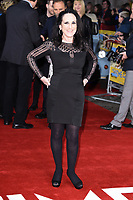 """Lesley Joseph<br /> arrives for the premiere of """"The Time of Their Lives"""" at the Curzon Mayfair, London.<br /> <br /> <br /> ©Ash Knotek  D3239  08/03/2017"""