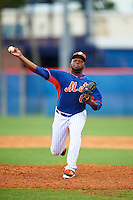 New York Mets pitcher Adonis Uceta (66) during an Instructional League game against the Miami Marlins on September 29, 2016 at the Port St. Lucie Training Complex in Port St. Lucie, Florida.  (Mike Janes/Four Seam Images)