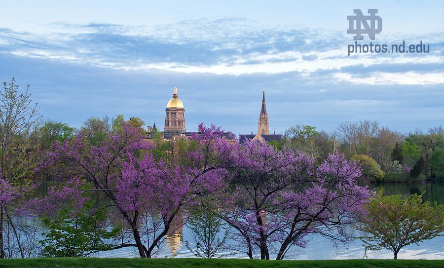 May 6, 2013; St. Joseph Lake..Photo by Matt Cashore/University of Notre Dame